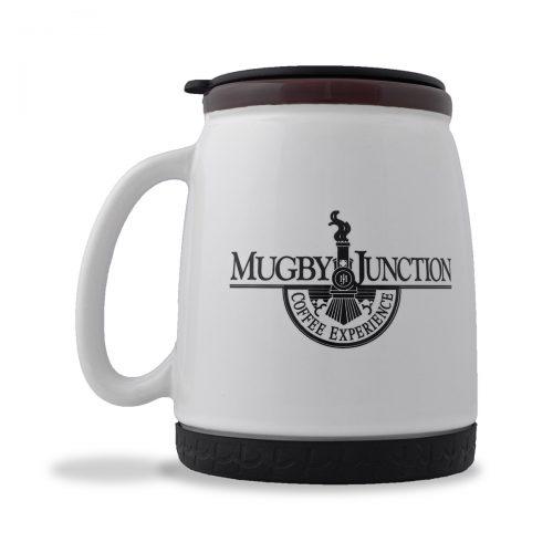 Mugby Junction Ceramic Travel Mug 20 oz